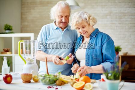 senior vegetarer
