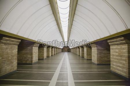 subway station i en storby
