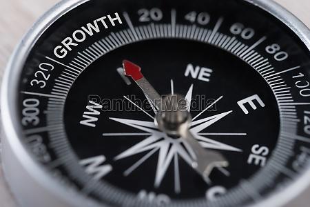 kompas angivelse vaekst