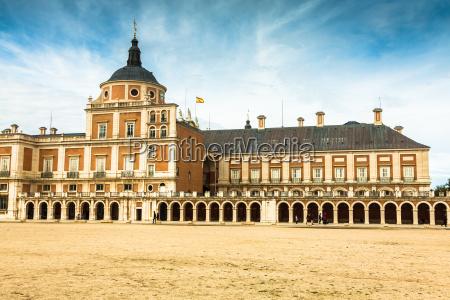 majestic palace of aranjuez in madrid