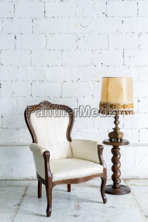 skrivebord mobler antik vinhost lampe hosten