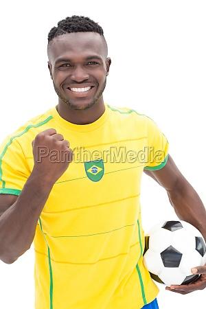 fnise smiler med succes vellykket sport