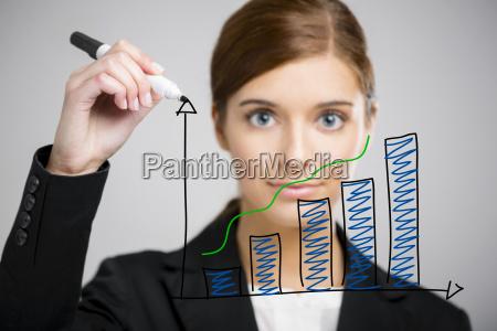 business kvinde gor en front flip