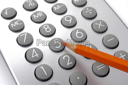 finans og costing med rod blyant