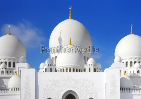 sheikh zahid moskeen i abu dhabi