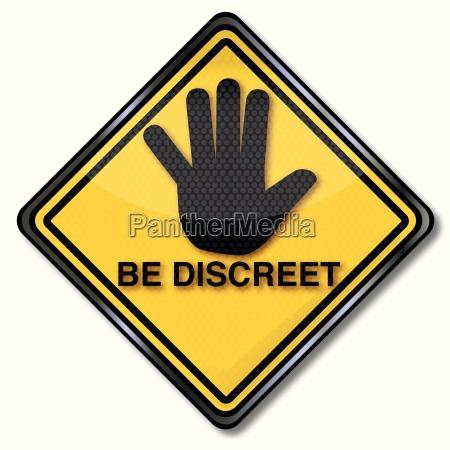 hand hemmelige hemmelig diskretion mindfulness suspenderet