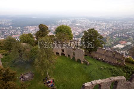 historisk historie sevaerdighed mur tyskland den