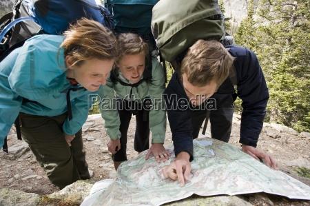 venskab tur rejse sport trae nationalpark