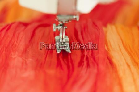 mode silke tekstiler rod gul