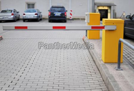 personlig parkeringsplads