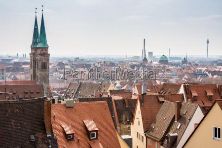 udsigt over nuernberg byen