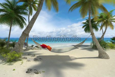 slappe af pa stranden