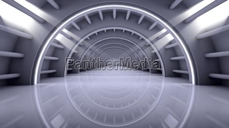 abstrakt moderne baggrund tom futuristisk interior