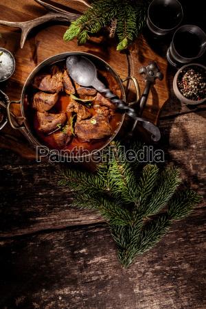 venison goulash stew i pot med