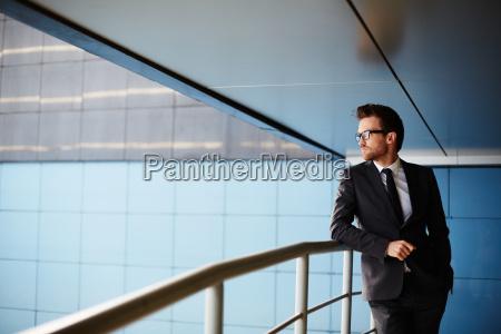 elegant forretningsmand
