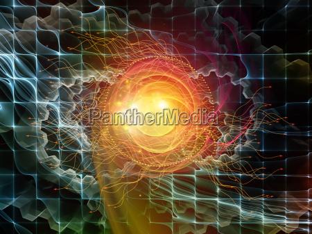 metaforisk abstrakt visualisering