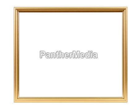 golden dekorative tomme billedramme