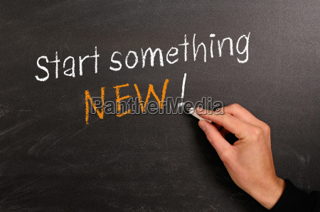 start noget nyt