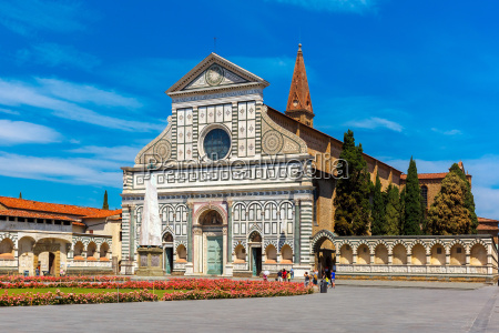 santa maria novella in florence italy