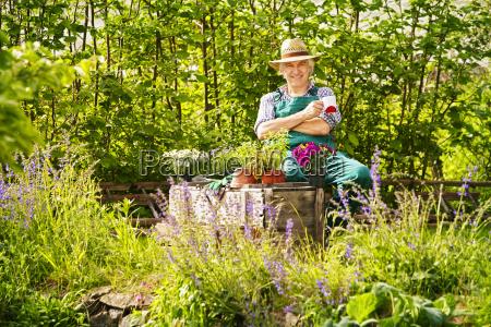 have gartner halm hat planter sidder