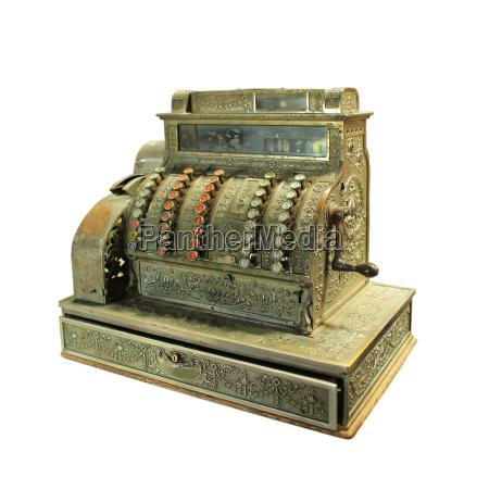 kasse kasseapparat objekt genstand fritlagt antik