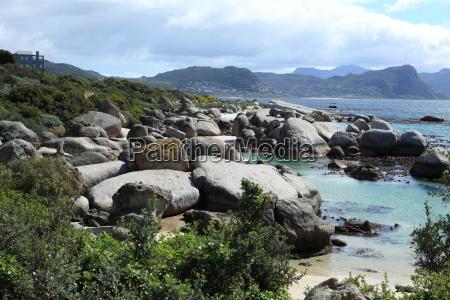 kysten naer cape town i sydafrika