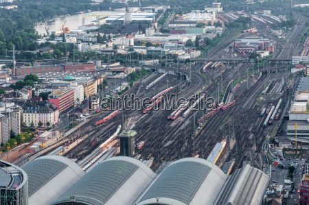 frankfurt main railway station germany