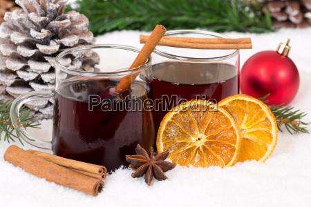 mulled vin pa jul i vinter