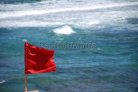 baden verboten fatal red flag flag