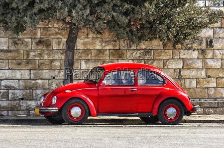 tysk automobil volkswagen beetle