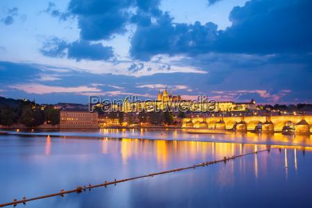 sommer sommerlig europa prag destination tjekkiet