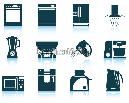 saet kokkenudstyr ikon