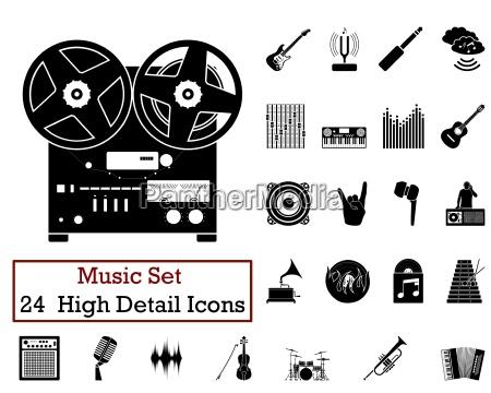 24 music icons