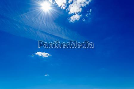 bla skyer nogne himmel firmament lys