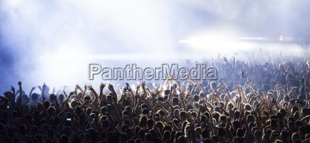 crowd pa koncert