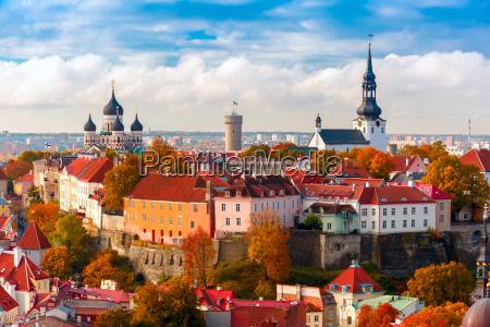 luftfoto gamle bydeltallinnestland