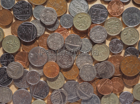 pound coins in london