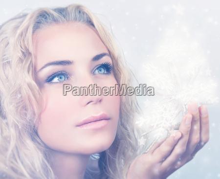 smuk kvinde portraet