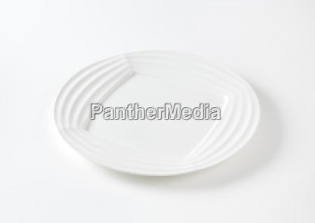 objekt enlig genstand moderne tallerken lavvandet