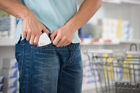shoplifter saette packet in pocket