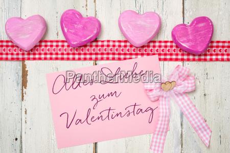 pink kort alles liebe zum