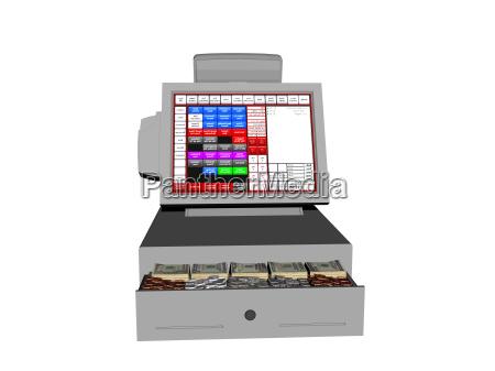 cash register fritagelse