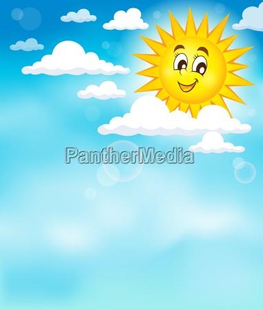 sun on sky imagen del tema