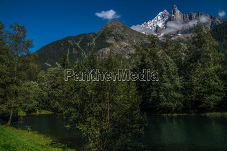 landskab franske alper