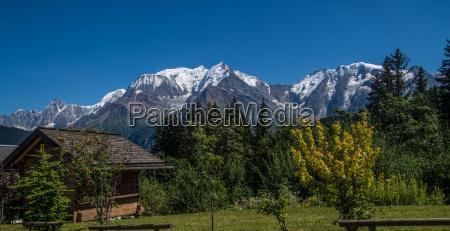 panoramiske landskab franske alper