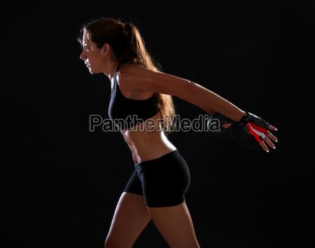 kvinde sundhed sport livsstil sorte sort