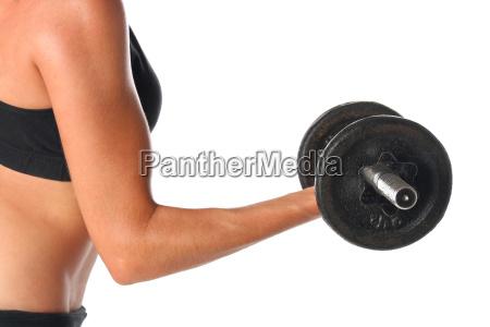 kvinde sundhed sport fritlagt livsstil muskel