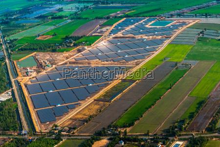solar farm solar panels photo from