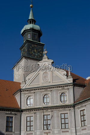 torre storico famoso turismo orologio baviera