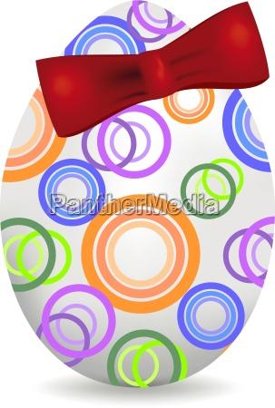 munter, påske, baggrund, med, farverige, dekoreret - 16324381